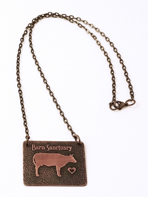 Barn Sanctuary Necklace Full View