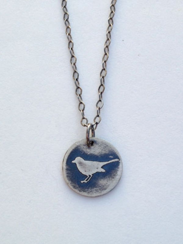Little Bird Pendant - Vegan/Animal Rights Inspired