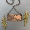 Vegan Sheep Necklace