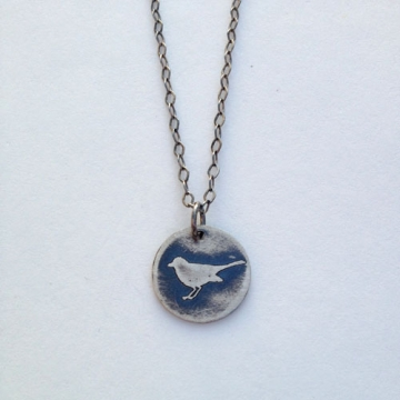 Little Bird Pendant - Vegan/Animal Rights Inspired